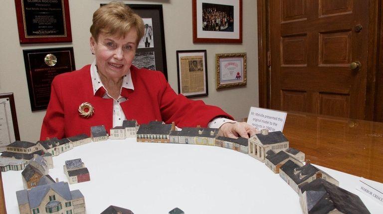 Gloria Rocchio, president of the Ward Melville Heritage
