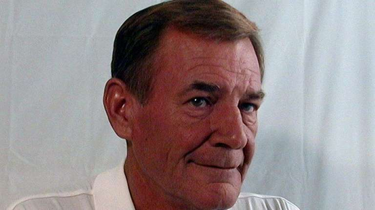 Retired Suffolk police Det. K. James McCready at