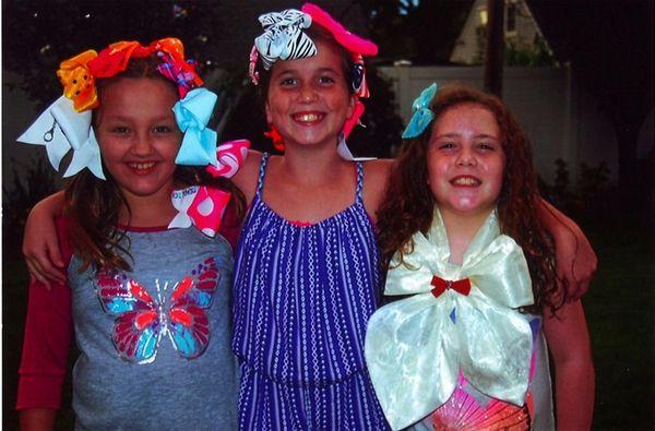 Kidsday reporters Nikki Arana, Kaley Garbacki and Logan