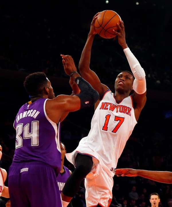 Cleanthony Early #17 of the New York