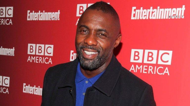 Actor Idris Elba attends the