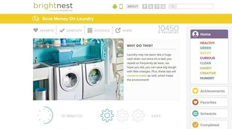 BrightNest is a website and app that gives