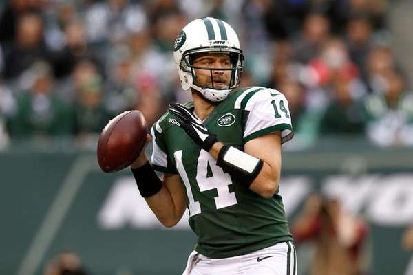 Ryan Fitzpatrick #14 of the New York Jets