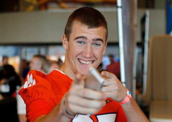 Clemson wide receiver Seth Ryan during Orange Bowl