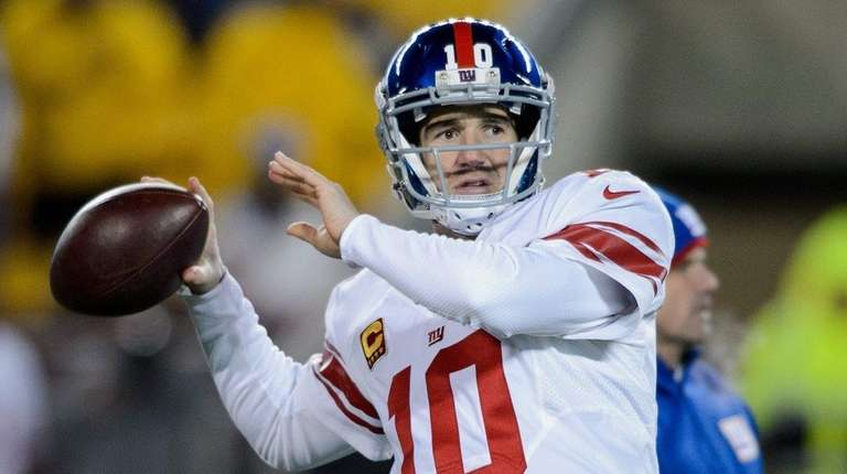 Eli Manning and the Giants want to end