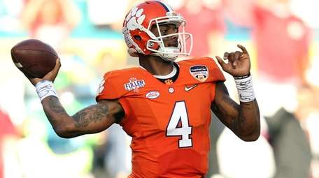 Clemson's Deshaun Watson appears to be the kind