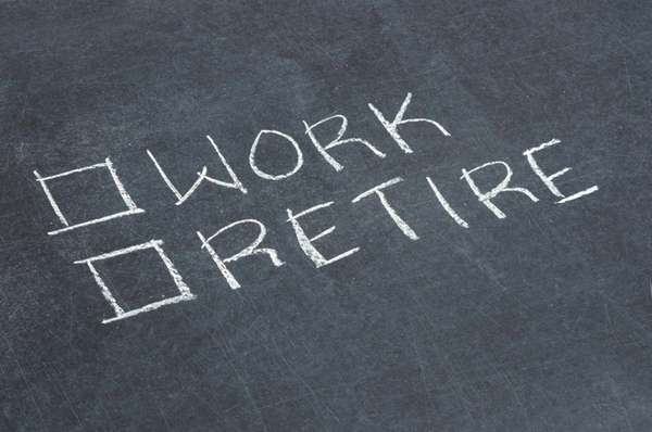 Work or Retire Checkbox By iStockphoto by Getty