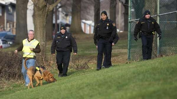 Allentown, Pa., police use a search and rescue