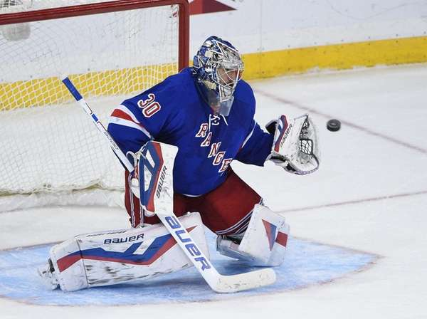Henrik Lundqvist hasn't had a shutdown game in