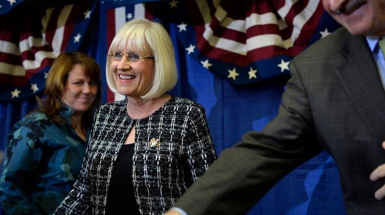 Judi Bosworth was sworn in as supervisor at