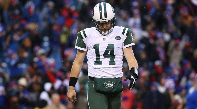 Ryan Fitzpatrick of the New York Jets
