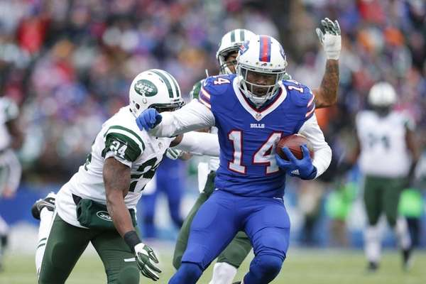 Sammy Watkins was targeted 15 times and made