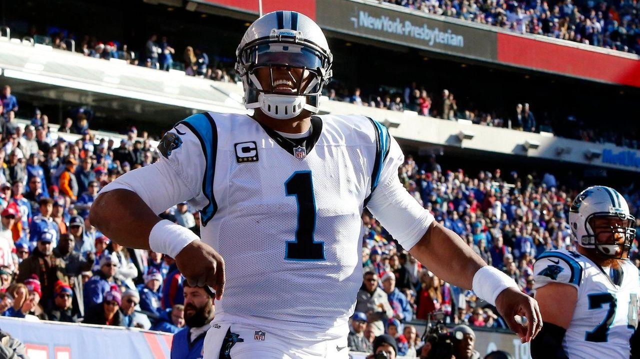 Cam Newton #1 of the Carolina Panthers
