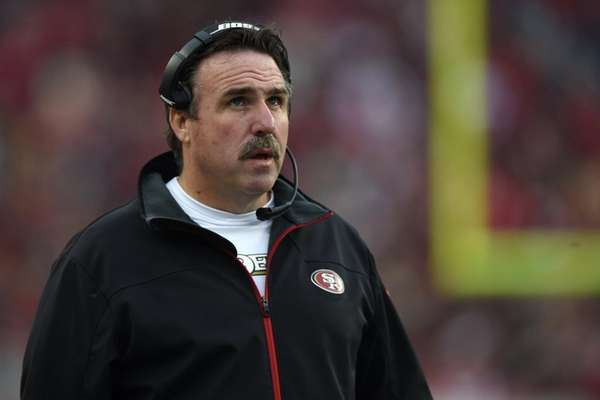 Head coach Jim Tomsula of the San