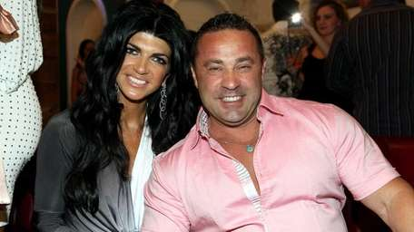 Teresa Giudice, 41, pictured with her husband Giuseppe