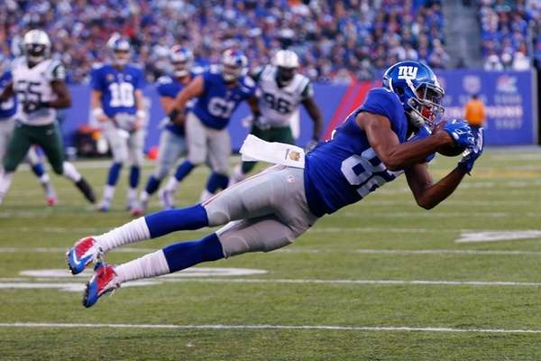 Rueben Randle of the New York Giants makes