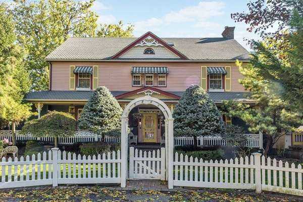This 1922 Victorian-style home in Hewlett is on