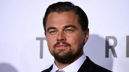 Actor Leonardo DiCaprio attends the premiere of his