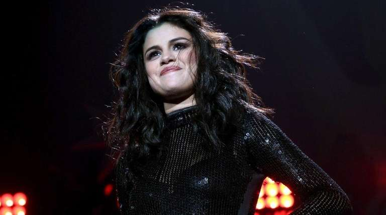 Selena Gomez performs at KISS/103.5 FM's Jingle Ball