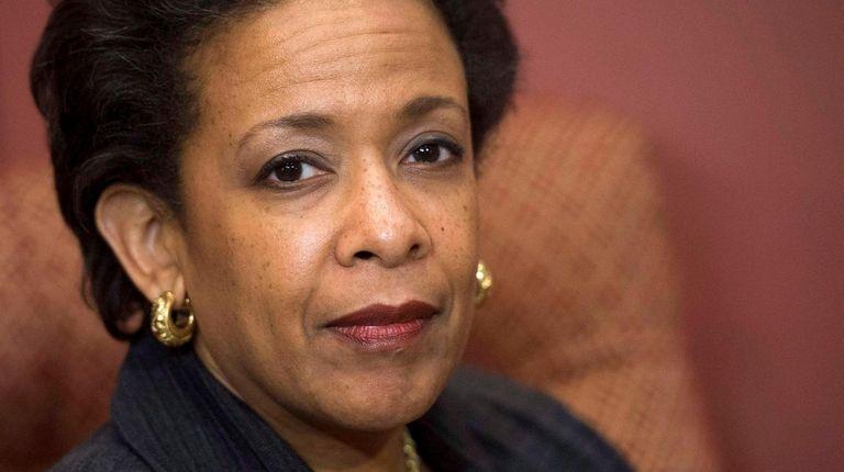 U.S. Attorney General Loretta Lynch is seen in