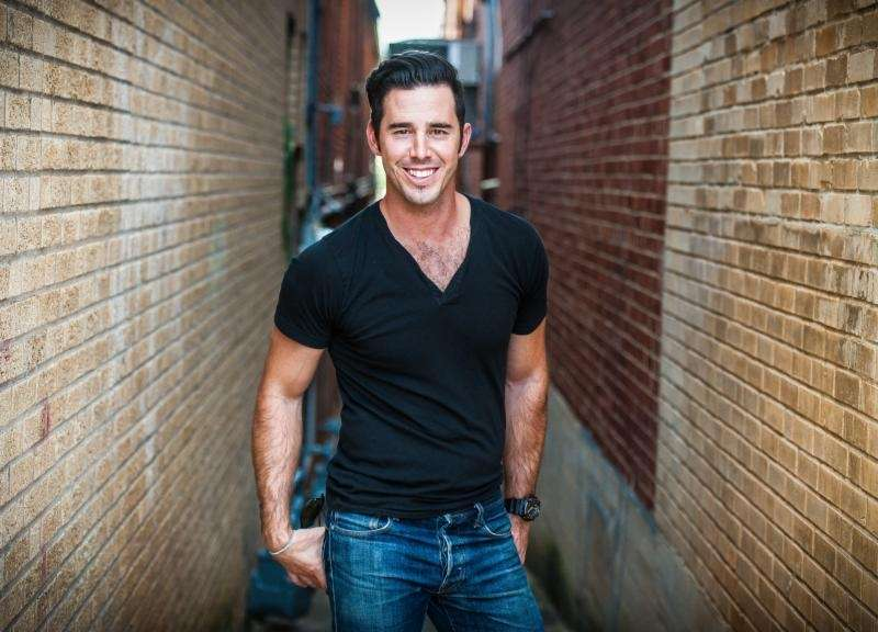 This undated image shows Craig Strickland, lead singer