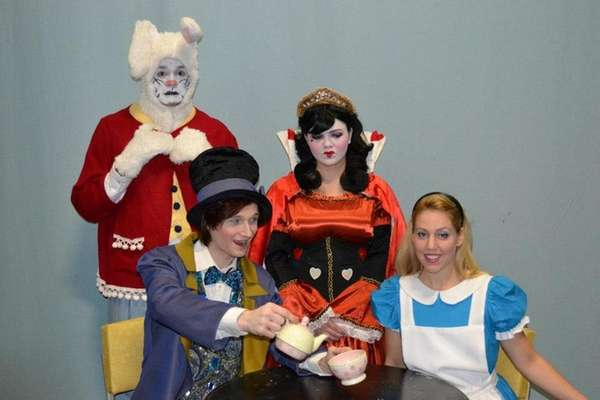 Pictured here is the cast of Alice in