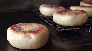 How to make your own English muffins.