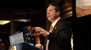 Gov. Andrew M. Cuomo outlines his proposals --