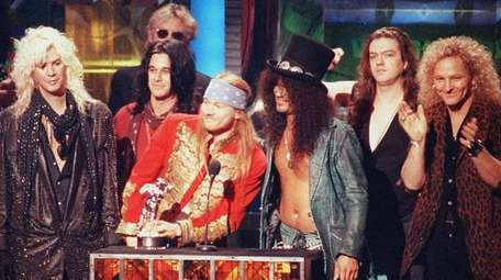 Axl Rose and Slash will perform together for