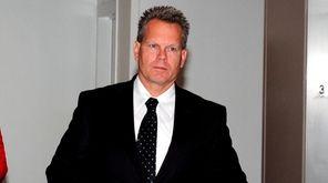 Former Suffolk County police Sgt. Scott Greene, at
