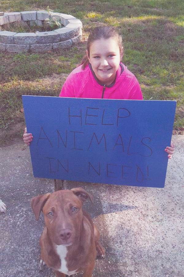 Kidsday reporter Gianna Raftery wants to help dogs.