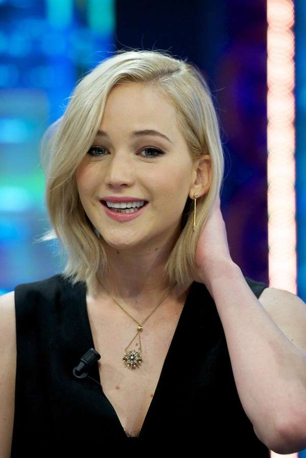 Jennifer Lawrence appears on TV Show