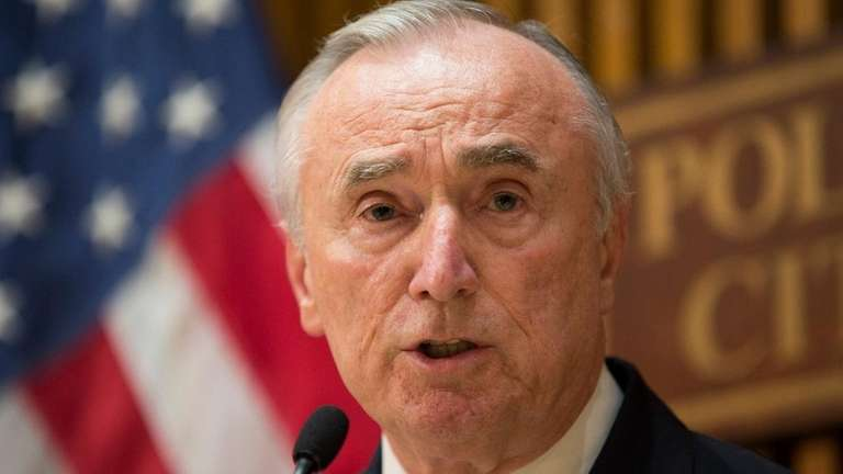NYPD Commissioner William Bratton said in an interview