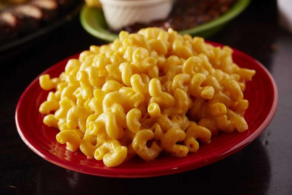 Mac and cheese is served at Smokin Al's