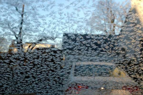 A frosty morning in Garden City on Jan.