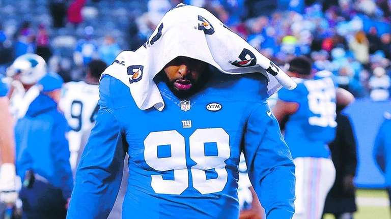 Cullen Jenkins #99 of the New York