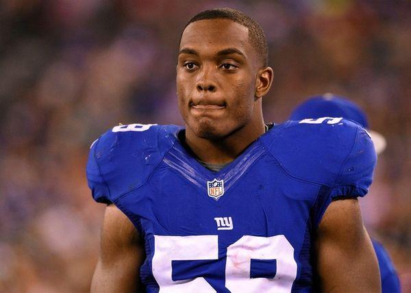 New York Giants outside linebacker Devon Kennard in