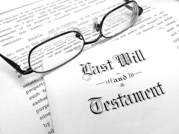 A will is a key document in estate