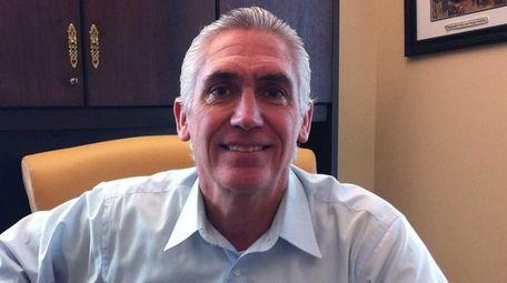 Peter Imbert, then-mayor of the Village of Amityville,