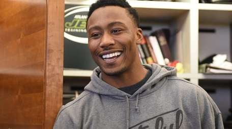 New York Jets wide receiver Brandon Marshall