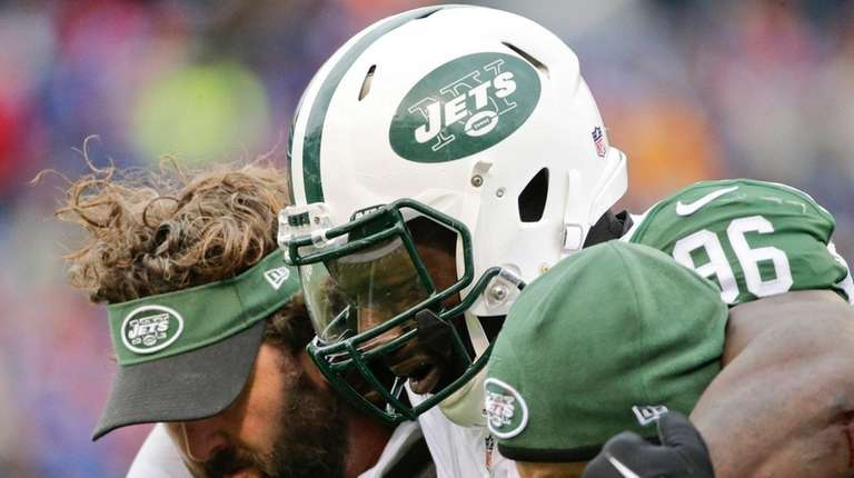 New York Jets defensive end Muhammad Wilkerson is