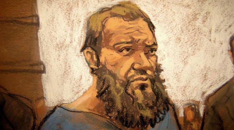 Muhanad Mahmoud Al Farekh seen in federal court