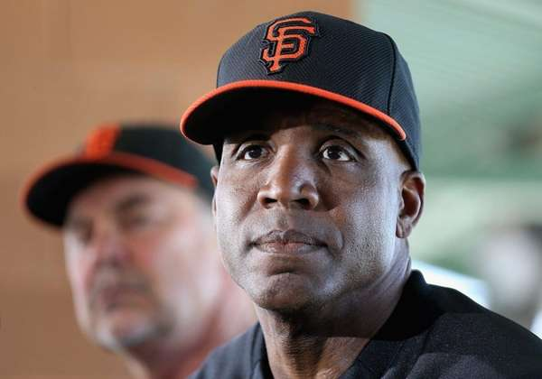 Barry Bonds of the San Francisco Giants