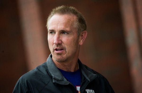 New York Giants defensive coordinator Steve Spagnuolo