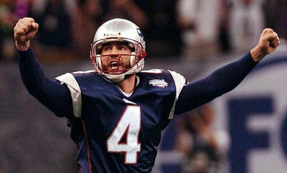 SUPER BOWL XXXVI: PATRIOTS 20, RAMS 17 Louisiana