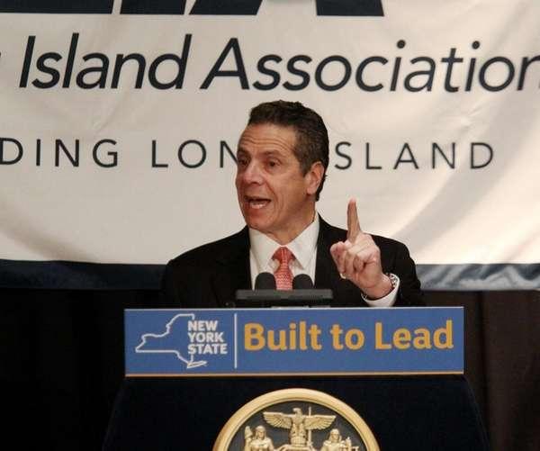 Gov. Andrew M. Cuomo outlines proposals including a