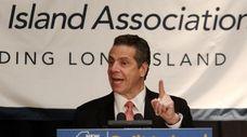 Gov. Andrew M. Cuomo outlines proposals including a