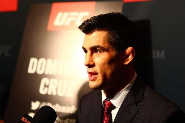 UFC bantamweight Dominick Cruz answers questions from