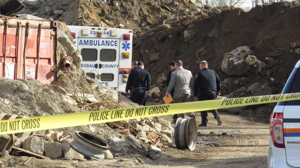 Nassau County police investigate at IROC Industries in
