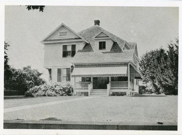 The Samuel Osborn Hedges House in Bridgehampton is